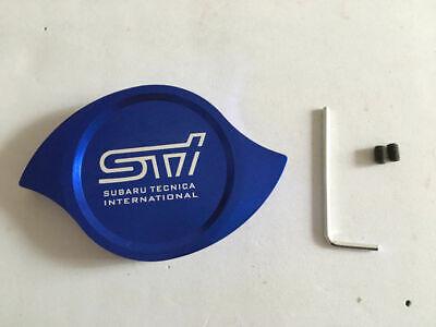 JDM BLUE STI CNC High Performance Aluminum Radiator Protection Cap Cover impreza