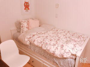$1350 private bedroom for rent in downtown centre 822 seymour st