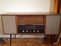 Early 1960s Ferguson Radiogram/radio/LP