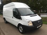 Ford Transit 2.2TDCi T350 Van / 125 Bhp / LWB / High Roof / 2013/ NO VAT