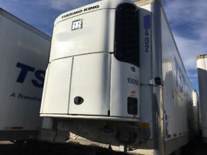 2007 Utility 28' Single-Axle Reefer Pup Van With Tailgate