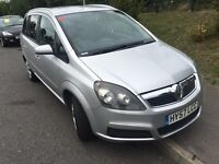Vauxhall Zafira 1.6 2007 7 seater in good condition drives very well