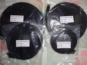 Flat Ethernet Cat6 cable 10ft,25ft,75ft,100ft London Ontario image 2