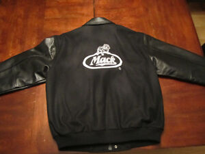 Mack Jacket- Leather and wool -  not used Edmonton Edmonton Area image 2
