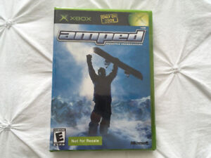 Amped : Freestyle Snowboarding (Xbox 2001) still new \ sealed