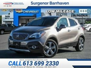 2014 Buick Encore Leather  - Leather Seats -  Bluetooth - $164.2