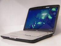 ACER ASPIRE 5720 15.4''/ INTEL CORE 2 DUO/ 3GB RAM/ 250GB HDD/ WIN 7