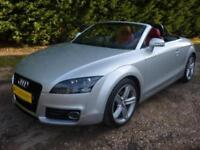 AUDI TT ROADSTER 2.0TFSI 208 BHP SPORT, FULL MAGMA RED LEATHER 72,000 MILES ONLY