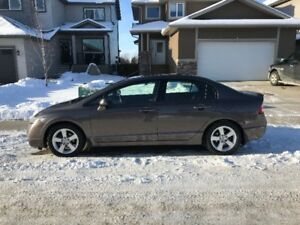 2011 Honda Civic, Summer/Winter Tires with Rims, Remote Start