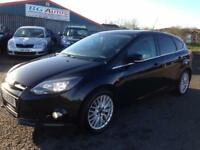 61 FORD FOCUS 1.6 TDCI ZETEC 115 6SP 5DR BLACK £20 YR TAX