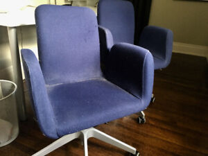 Desk Chairs - 2 available $25 each Navy Blue