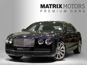 Bentley Flying Spur Mulliner W12 REAR ENTERTAINMENT