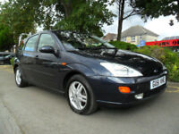FORD FOCUS 1.8 TDdi 2001 ZETEC COMPLETE WITH M.O.T HPI CLEAR