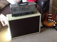 Bugera T50 guitar amplifier and 2 x 10 inch speaker combo