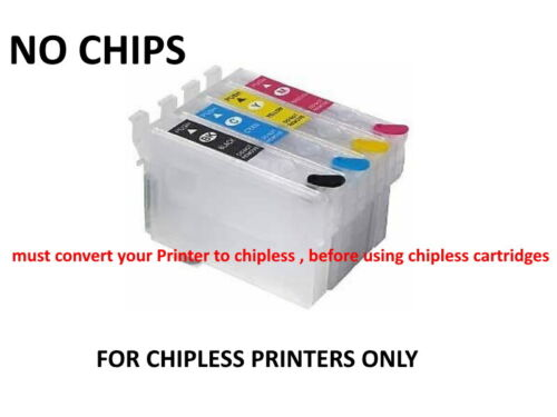 Empty chipless cartridges for Epson T288  for xp440 xp446  XP-340 XP-434b
