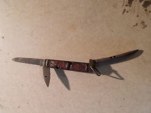 World war 1 knife for restoration.