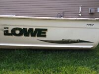 2005 Lowe 14 Foot Deep and Wide With 15Hp Evinrude