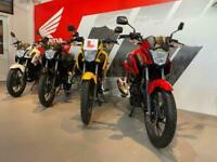 Honda CB 125 F GLR 125 CBF 125 2020 Learner Legal at Craigs Honda 01274 800050