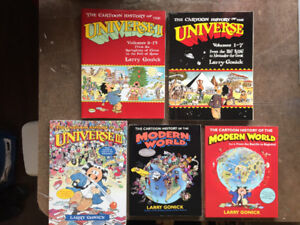 "Complete ""The Cartoon History of the Universe"" Comics/Books"