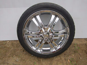 "17 "" Ion Chrome Rims & Tires"
