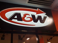 A&W Hiring @ the New Westminster location