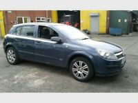 Breaking for parts mk5 Vauxhall Astra H 1.4 twinport 5 speed manual blue 5 dr hatchback