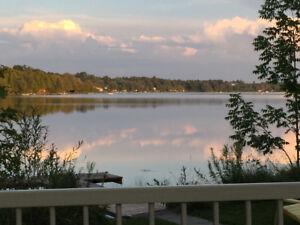 chalet lac Miroir en Estrie