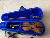 1/4 size violin used but in excellent condition - now sold sorry