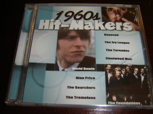 1960'S HIT-MAKERS BRAND NEW FACTORY WRAPPED CD