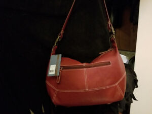 Red Leather Purse ( brand new )