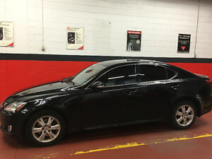 Black 2010 Lexus IS Sedan -From Owner