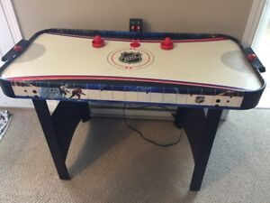 4 Foot NHL Air Hockey Table with Electronic score keeping
