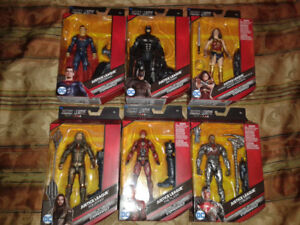 "Multiverse Justice League Movie 6"" Figure Set - Steppenwolf"