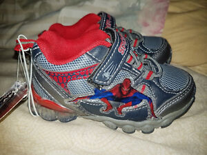 NEW size 6 Spiderman shoes