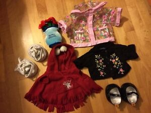 Build-a-bear clothes and shoes