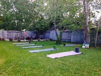 Back Yard Yoga - Sexsmith