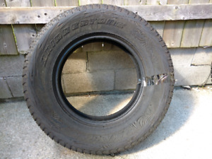 "17"" Bridgestone Blizzak snow tires"