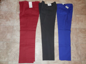 3 pairs of brand new pants (by Calvin Kline, Will Smith, Cleo)