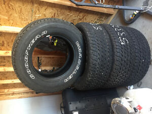 Goodyear wrangler tires for sale new take offs