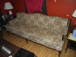 Antique Couch/Chair       OR       Chaise Sofa