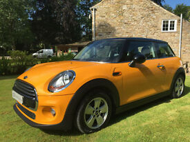 LATEST MODEL MINI COOPER D 1.5d 114ps CHILI PACK OVER 90MPG 3DR 2014
