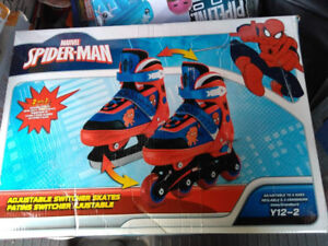 Spiderman Switchable Skates