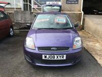 2008 Ford Fiesta 1.25 style, lovely amethyst colour car