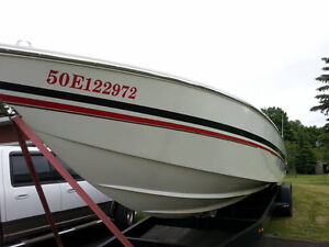 Boat Registration Numbers and Transom Decals Cornwall Ontario image 8