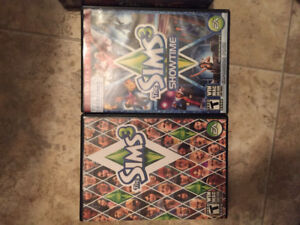 Sims 3 game and expansion pack