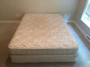 Firm Queen mattress and box spring for sale!