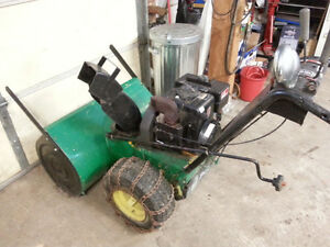 CLEARANCE PRICING on Fully Serviced Snowblowers!