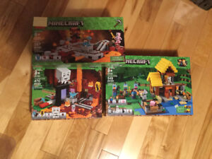 Collection LEGO NEUF MINECRAFT Lego The Nether Railway 21130 ,3