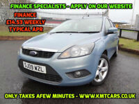 2009 Ford Focus 1.6 (100ps) Zetec - One Previous Owner - KMT Cars