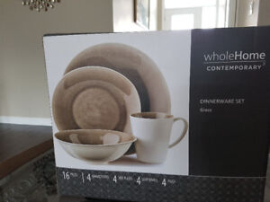 Whole home 16 pieces dinnerware set